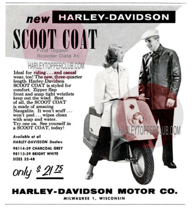 1959 Harley Topper Ad
