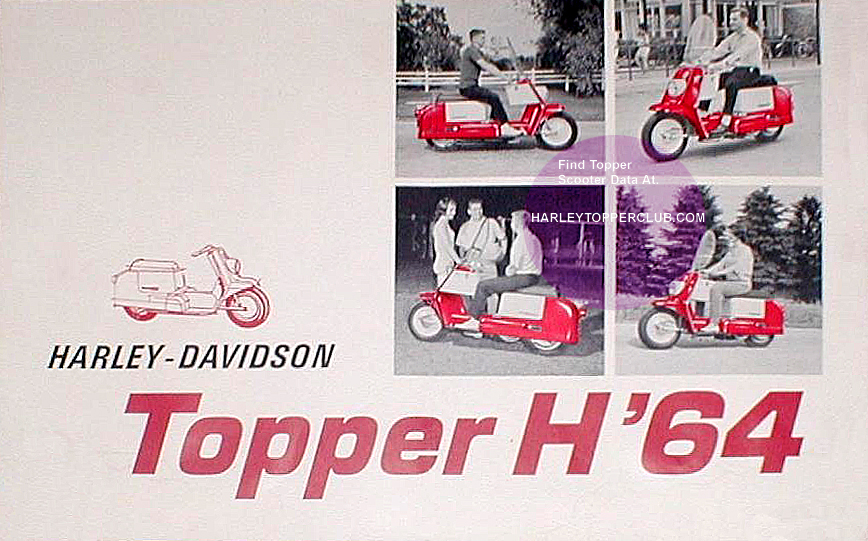 1964 Harley Topper ad