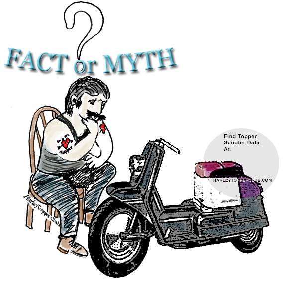harley topper club facts or myth did harley  myths
