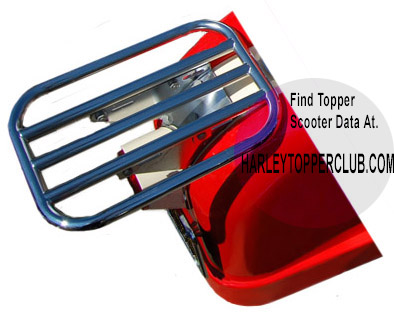 Harley Topper Luggage Carrier number 53405-62
